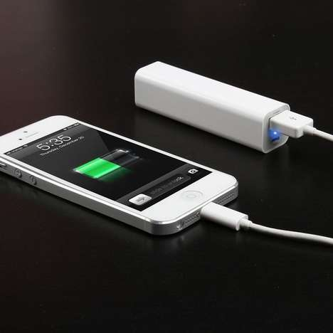 Carry-Around Phone Chargers - The Portable Backup Battery is Small Enough to Pack in Your Pocket
