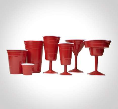 Iconic Partying Stoneware (UPDATE) - Red Cup Partyware is Perfect for Burgeoning Adults