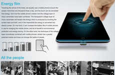 Touchscreen Energy Savers - Energy Touch Harnesses the Energy Generated by Finger Tapping