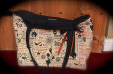Spooky Chic Purses - This Halloween Tote Bag is Perfect for the Month of October