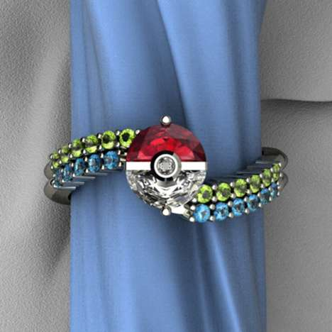 Anime-Inspired Engagement Bands