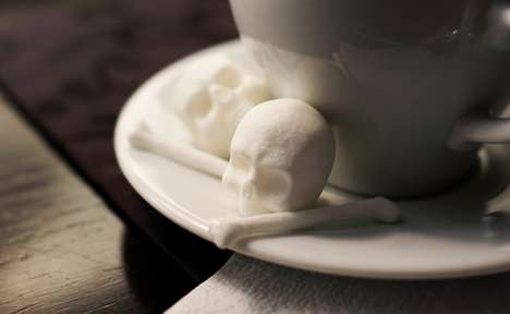 These Sugar Cube Skulls are Designed by Designer Snow Violent