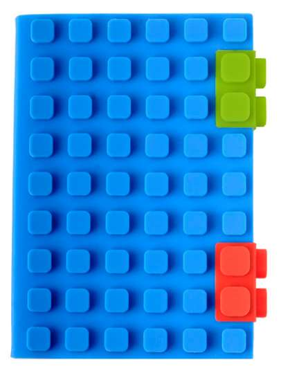 Lego-Themed Stationary - The Building Block Notebook Reminds One of their Childhood