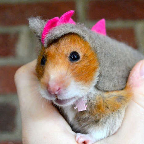 Dino Hamster Halloween Costumes