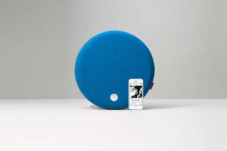 Smartphone Mount Ball Speakers