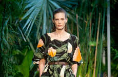 Safari-Inspired Runway Shows - The Hermes Spring 2014 Collection is Rainforest Ready