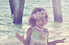 Ethereal Mermaid Kids Costumes