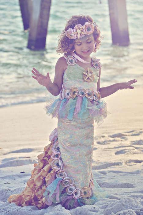 Ethereal Mermaid Kids Costumes