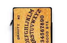 Mystical Tech Accessories - The Black Magic iPad and Tablet Case is Inspired by a Ouija Board