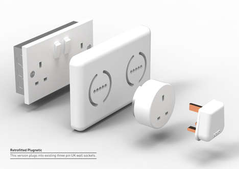 Magnetized Easy-Use Adapters