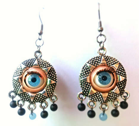 These Halloween Costume Earrings Act as an Extra Pair of Eyes