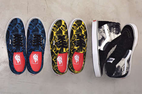 Iconic Film Scene-Printed Shoes - This Supreme Vans Collaboration is Inspired by Bruce Lee
