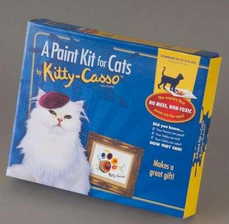 Feline-Specific Paint Sets