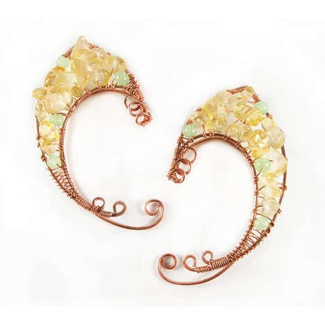 Fantasy-Inspired Earrings