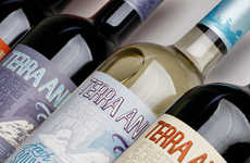 Relaxed Beverage Branding - Terra Andina Wine Caters to Casual Drinkers with Everyday Tastes