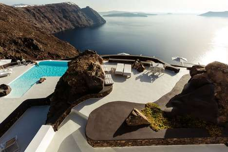 Immaculate Ocean View Villas - The Aenaon Villas Offer Unobstructed Views of Santorini
