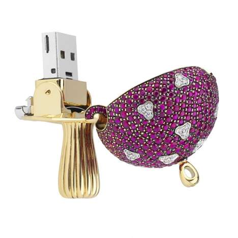 Record-Setting USB Drives - The Magic Mushroom USB Key is the Most Expensive in the World