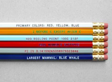 Be the Smartest Student in the Room with the 'Know It All' Pencil Set