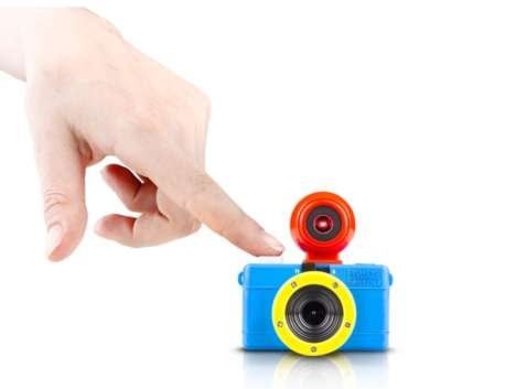 Playfully Petite Cameras - This Miniature Camera by Lomography Takes Colorful Pictures
