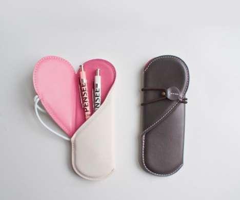 Blossoming Heart Pen Holders