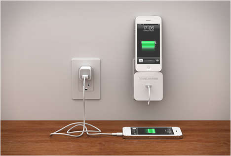 Multi-Purpose iPhone Chargers - The Rolio Cable Management and Wall Dock is Super Convenient