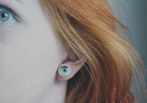 Eyeball Ear Accessories