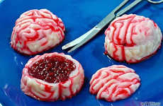 Booze-Infused Brain Bites - These Yummy Halloween Jello Shots Won't Turn Your Guests Into Zombies