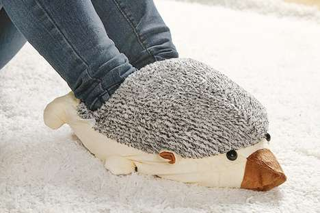 This Hedgehog USB Foot Warmer is a Must-Have for Winter