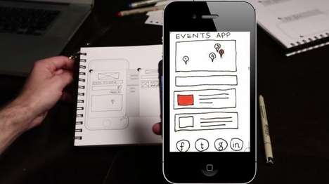 Newbie-Friendly App Development Platforms - AppSeed Turns Sketches into Functioning Prototypes