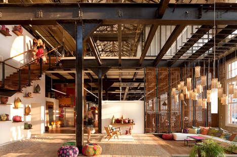 Cozy Retailer Lifestyle Villages - The Urban Outfitters Village is a Town Built by Retailers