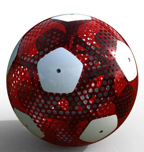Cutting-Edge Sports Equipment - The Agent CTRUS Football Changes Color When It's Passed the Goalpost