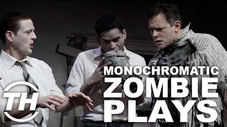 Live Monochromatic Zombie Plays