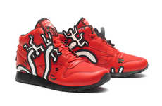 Pop Art Painting Sneakers - The Keith Haring Reebok 2013 Collection Includes Vibrant Looks