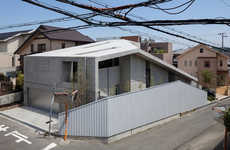Maze-Filled Minimalist Houses - The House of Hyogo Cascades Through Stairs and Slopes