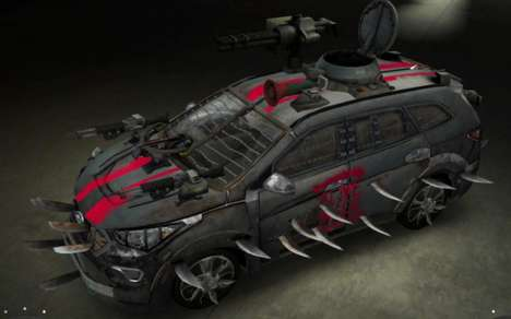 Zombie-Fighting SUVs