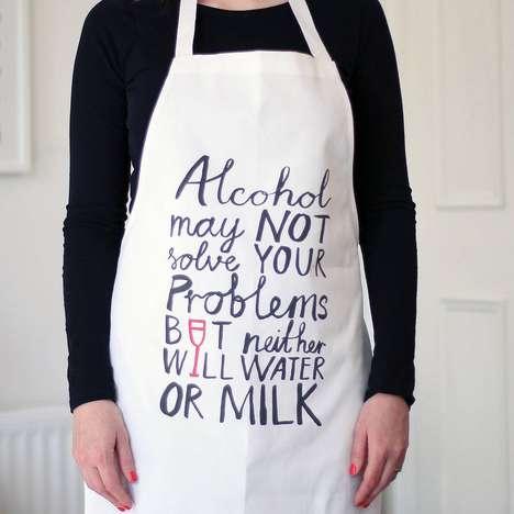 Defensive Alcoholic Aprons