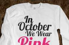 Mean Girls-Inspired Campaigns - You Can Share Breast Cancer Awareness by Wearing This Shirt