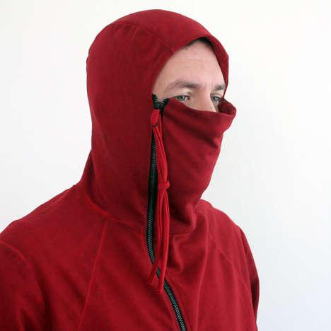 Fully Zippered Ninja Hoodies