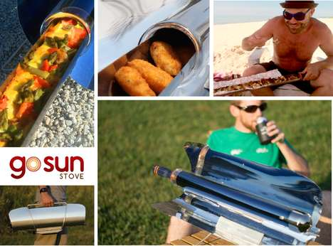 Solar-Powered Cookers