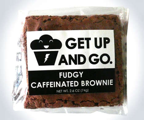 Caffeine-Infused Brownies