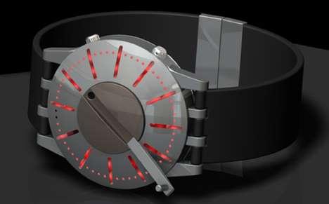 Cranked-Up Chronometers