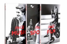 Celebratory Cola Brand Memoirs - 'Coca-Cola: Film, Music, Sports' Offers a Pop Cultural Brand Histor