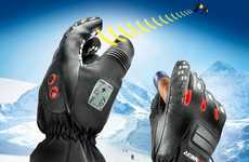 Navigating Ski Gloves - This Winter Sport Necessity Tracks Movements on the Slopes