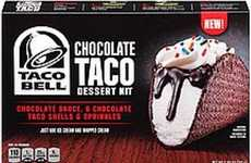 DIY Dessert Tacos - The Taco Bell Chocolate Taco Kit Lets You Make Your Own Choco Tacos