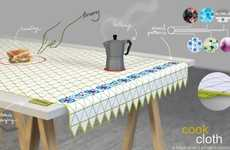 Stove Top Tablecloths - The cookCloth Lets You Bring a Bit of Your Kitchen to a Picnic in the Park