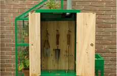 Resourceful Garden Sheds - Watercabinet is a Compact Outdoor Cupboard to Meet Your Landscaping Needs