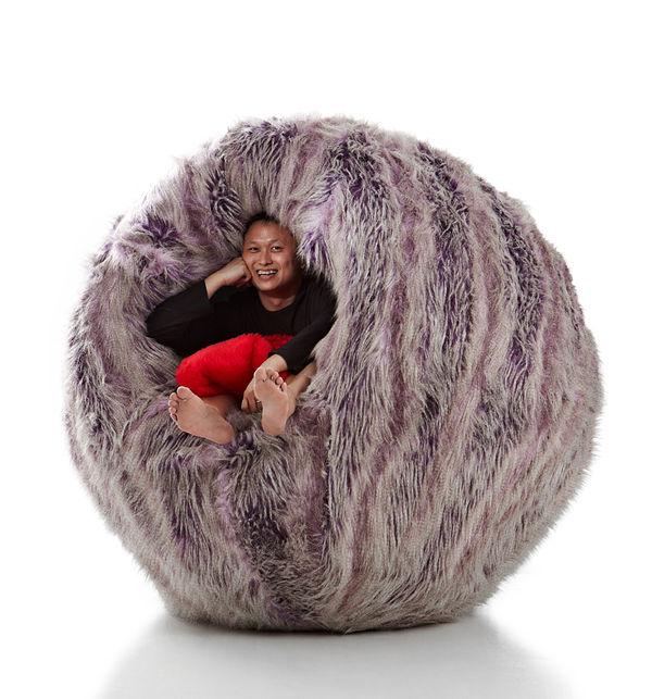 17 Furry Furniture Pieces