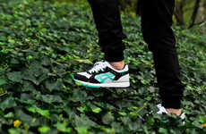 Environmentally Themed Sneakers - The ASICS 2013 Fall/Winter Collection is Inspired by Nature