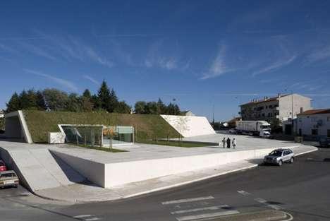 Hill-Buried Transit Hubs