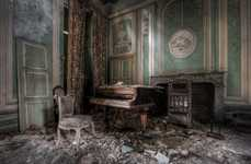 Eerie Abandoned Architecture Photography - Niki Feijen's 'Decay' series is Endearingly Spooky